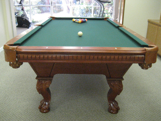 So cal pool tables angelical pool table - Pool table green felt ...