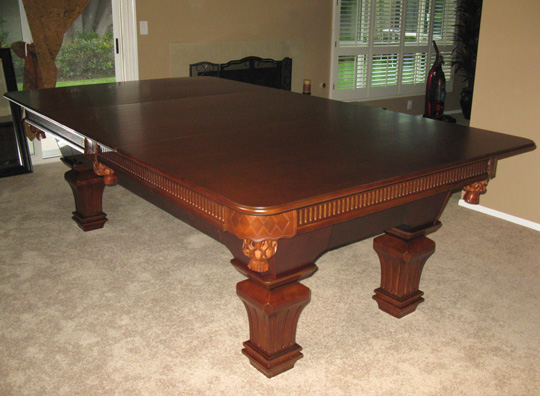 Convert Pool Table To Dining
