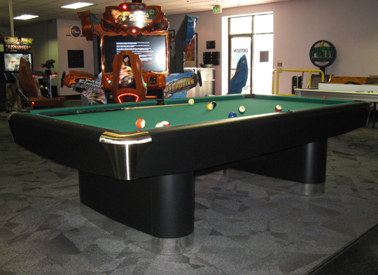 So cal pool tables sir charles pool table - Pool table green felt ...