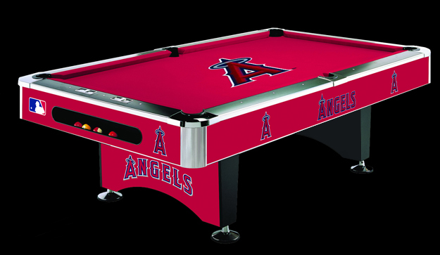 So Cal Pool Tables MLB ANGELS Pool Table - Pool table scorekeeper
