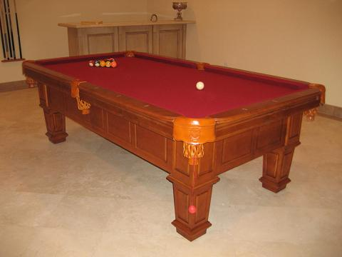 So cal pool tables gulf honey pool table - Billiard table vs pool table ...