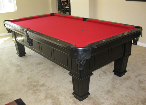 black felt pool table tiburon cherry pool table so cal pool
