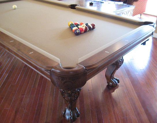 So Cal Pool Tables Heritage Teak Pool Table
