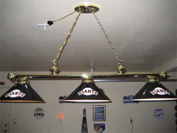 Racks, MLB U0026 NFL Pool Table Lights